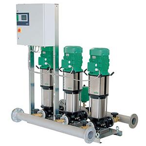 Wilo-COR变频供水机组系列